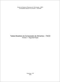 Tabela Brasileira de Composição de Alimentos – TACO