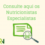 Consulta online de profissionais Especialistas registrados nos CRN